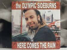 "THE OLYMPIC SIDEBURNS - HERE COMES THE RAIN / SORRENTO ... - 7"" VINYL NEAR MINT"
