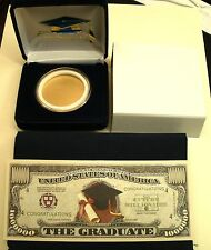 *GRADUATION DAY PKG! Your Own For Silver Eagle Coin-NO COIN INCUDED+EXTRAS!