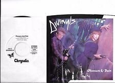 DIVINYLS * 45 with PS * Pleasure And Pain * 1986 #76 * MINT UNPLAYED * DJ PROMO