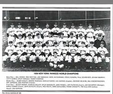 2004 DAILY NEWS REPRINT OF THE 1939 NEW YORK YANKEES TEAM PHOTO NO 8 NM !