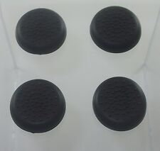 4Pcs Analog Controller Thumb Stick Grip Thumbstick Cap Cover For Sony PS4*BLACK*