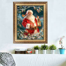 Christmas 5D Diamond Painting Santa Claus DIY Embroidery Cross Stitch Home Decor