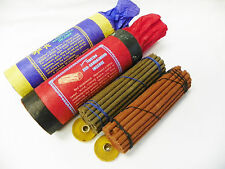 R621 Hand Rolled Tibetan Nagchampa & Red-Sandlewood Incense Made in Nepal 2 pkt