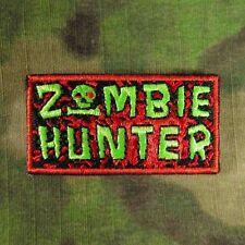 ZOMBIE HUNTER (TACTICAL) MORALE PATCH 2X1 W/VELCRO ~RANGER/SEAL/WALKING DEAD