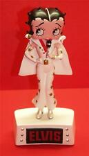"BETTY BOOP ELVIS BOBBER FIGURINE  - Base Lights Up - 6"" Tall"