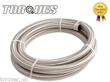 AN -12 AN12 JIC -12  Stainless Braided Dry Sump Oil Fuel Water Hose 6m