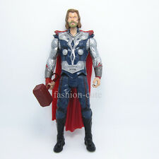 """New The Avengers Thor with hammer Action figure Movie 19.5 cm 7.7"""" inch Gift"""