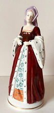 HENRY VIII WIFE PRETTY ANNE BOLEYN  SITZENDORF LARGE FIGURINE