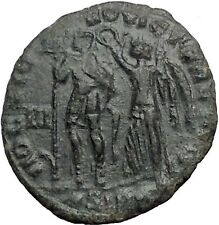 CONSTANTIUS II 351AD Chi-Rho Christogram BY THIS SIGN CONQUER Roman Coin i55809