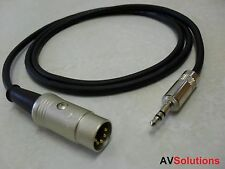 Estaciones / mp3/pc/tv a naim/quad Cable Aux (0,75 Mtr, calidad de estudio)