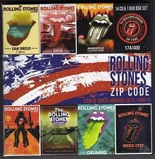 ROLLING STONES  - -  Zip Code Tour -    14 CD's + 1 DVD's   Box