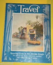 Travel Magazine August 1916 Home On The Tigris River cover Nice Picture! See!