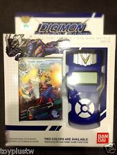 Bandai Digimon Xros Wars BLUE Fusion Loader ENGLISH Digivice Data Link NEO RARE
