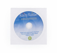 Knifty Knitter knitting Project DVD. New