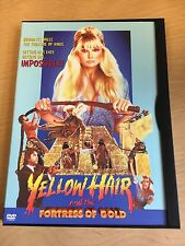 Yellow Hair and the Fortress of Gold DVD 1984 B-Movie Cult Action Kung Fu Rhino