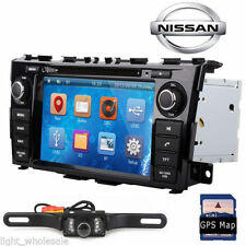 "Camera+ 8"" GPS Navi 2Din Car Video Auto Stereo For Nissan Teana Altima 2013-2014"