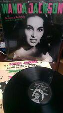 The  Queen of Rockabilly Salute the King by Wanda Jackson Vinyl LP (Elvis)