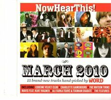 (FP781) Now Hear This! Issue 85 March 2010 - The Word CD