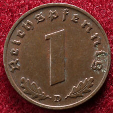 Germany 1 Pfennig 1938 D