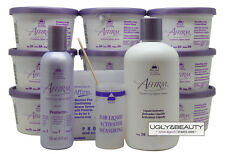 Affirm Sensitive Scalp Creme Relaxer 9 Single Applications Kit with Protecto