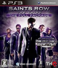 Used PS3 Saints Row: The Third  PLAYSTATION 3 SONY JAPAN JAPANESE IMPORT