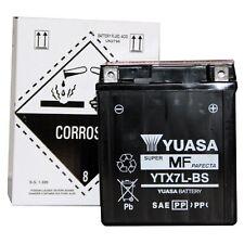 MOTO YUASA-BATTERIA ytx7l-bs YTX 7l-bs NUOVO!!!, 12 Volt 6ah, 113x70x130 mm