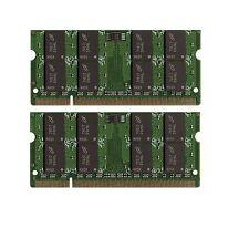 4GB (2x2GB) Memory PC2-6400 SODIMM For Gateway One ZX4800-02