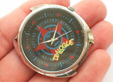 Rare soviet LUCH QUARTZ watch RED STAR USSR / CCCP PROPAGANDA