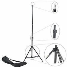 Trépied Pied pour Studio Photo Video Flash 220cm Support Aluminium avec Sac