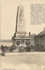 CARTE POSTALE BAZEILLES LE MONUMENT COMMEMORATIF DE LA BATAILLE 1870