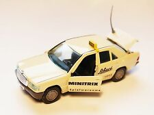 """Mercedes W 201 Typ 190 / E D TAXI """"""""SPIELWARENMESSE Toy Fair 1993"""", GAMA 1:43!"""