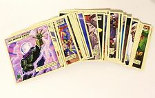 HUGE Marvel Legends SHOWDOWN 66 different Square Card Lot Upper Deck