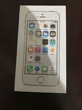 Apple iPhone 5S 16GB 4G LTE Prepaid Silver Straight Talk Smartphone Sim