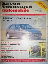 RENAULT Clio 1.9D RL RN RT - Revue Technique Automobile (RENAULT 21 R21)