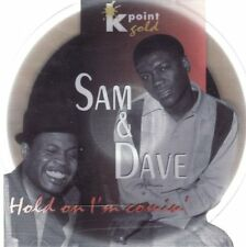 Sam & Dave Hold on I'm comin' (compilation, 12 tracks, k-point gold disc) [CD]