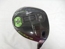 New 2016 Cobra King F6 Green 3-4 Fairway Wood Stiff flex Matrix Ozik 3-4W
