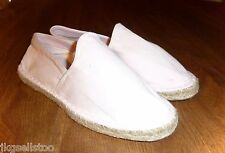 BROOKS BROTHERS - PINK CANVAS FLAT ESPADRILLES - LADIES 6 - EUC
