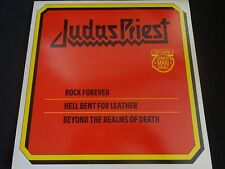 "Judas Priest ""Rock Forever"" Original Vinyl EP. Import/Made In Holland. RARE !"