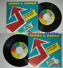 "LP 45 7"" BRUCE & BONGO The best disco Yahoo 1987 italy CGD INT 10735 cd mc dvd*"