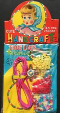 "1950s Made in JAPAN ""CUTE HANDCRAFT TRUE LOVE JEWELRY"""