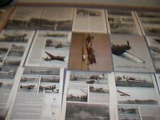VINTAGE..JAPANESE CAPTURED AIRCRAFT TESTING.HISTORY/PHOTOS/DETAILS..RARE! (48K)