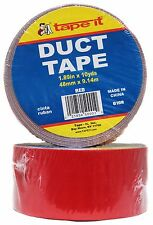 "TAPE IT 1.89"" x 10Yd DUCT TAPE Craft+Repair+Decor SOLID COLORS *YOU CHOOSE* 2/2"