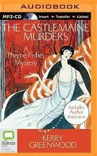 The Castlemaine Murders by Kerry Greenwood (2014, MP3 CD, Unabridged)
