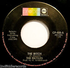 THE RATTLES-The Witch-A Guitar Drenched Psych Hard Rock 45-ABC #CP-480
