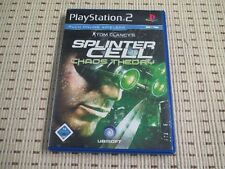 Splinter Cell Chaos Theory für Playstation 2 PS2 PS 2 *OVP*