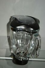 Oster 5 Cup Blender Glass Jar Replacement Clover Lid Cover Blade 6 piece