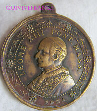 MED4809 - MEDAILLE PAPE LEON XIII 1887 JUBILEE SACERDOTAL