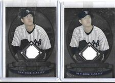 CHIEN-MING WANG 2008 BOWMAN STERLING PINSTRIPE GAME USED JERSEY