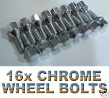 16x New Chrome Wheel Bolts For Mercedes Benz S Class All Models - W140 W220 W221