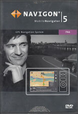 NAVIGON Mobile Navigator 5 auf 2 DVDs von NAVTEQ Version 5.1 + TOP
